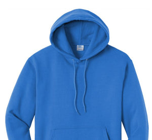 Port & Company ® Tall Uni-Sex Core Fleece Pullover Hooded Sweatshirt