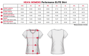 "Elite Performance by ""Headsweats""  Women's "" White Front & Black Back with Printed Short Sleeve"""