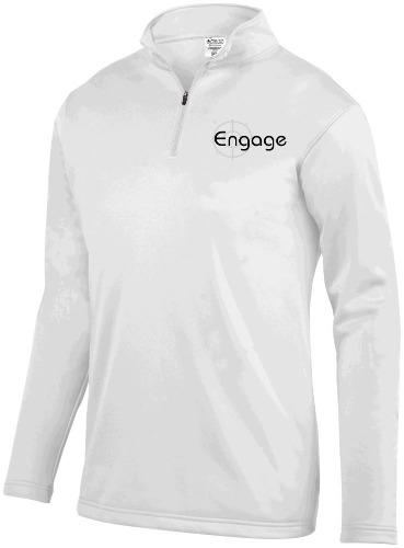 MEN'S WICKING FLEECE PULLOVER Engage