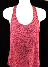 Load image into Gallery viewer, Hot Pink with Pink Stain Racerback