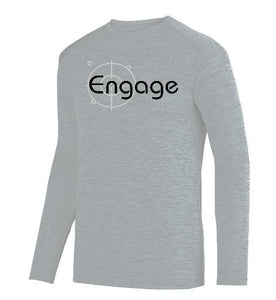 MEN'S SHADOW TONAL HEATHER LONG SLEEVE TEE - 3 Different Colors