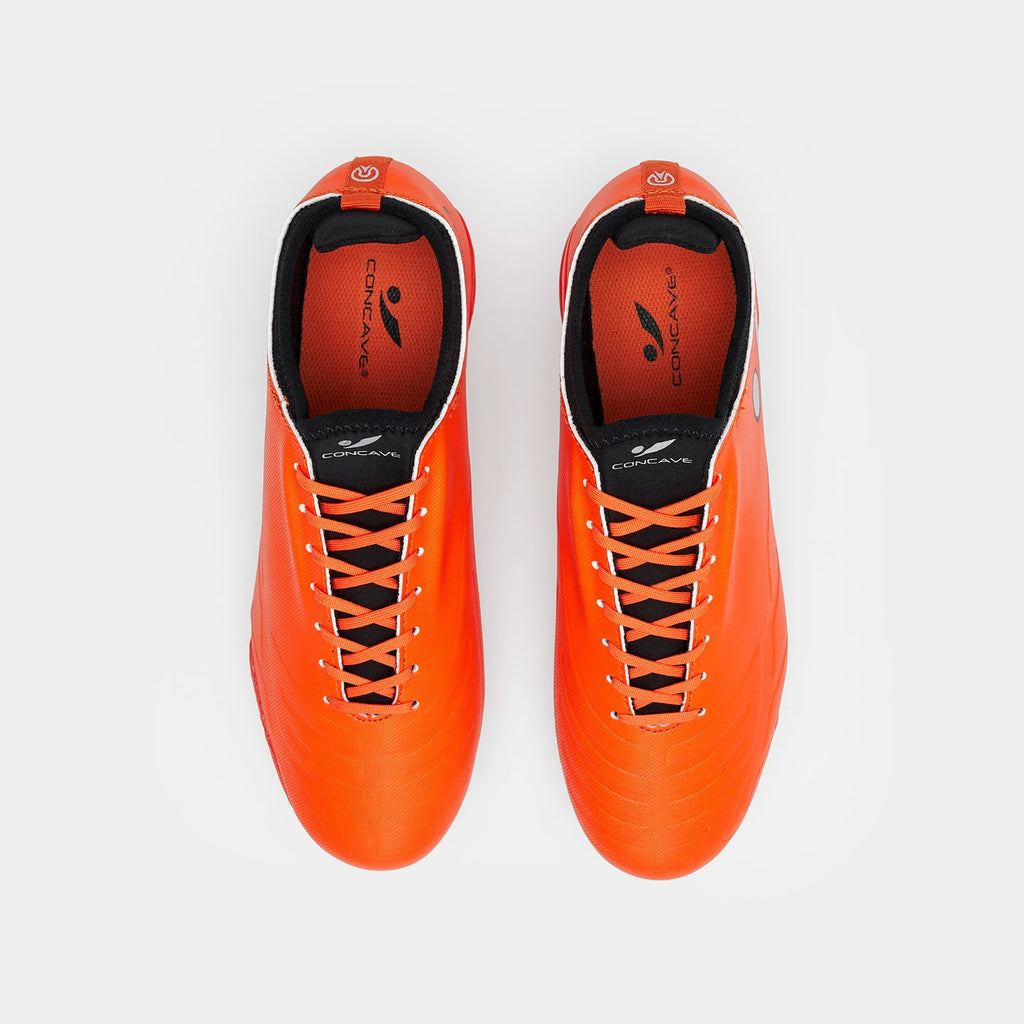 Kids Concave Halo FG - Red Orange/Black/Silver
