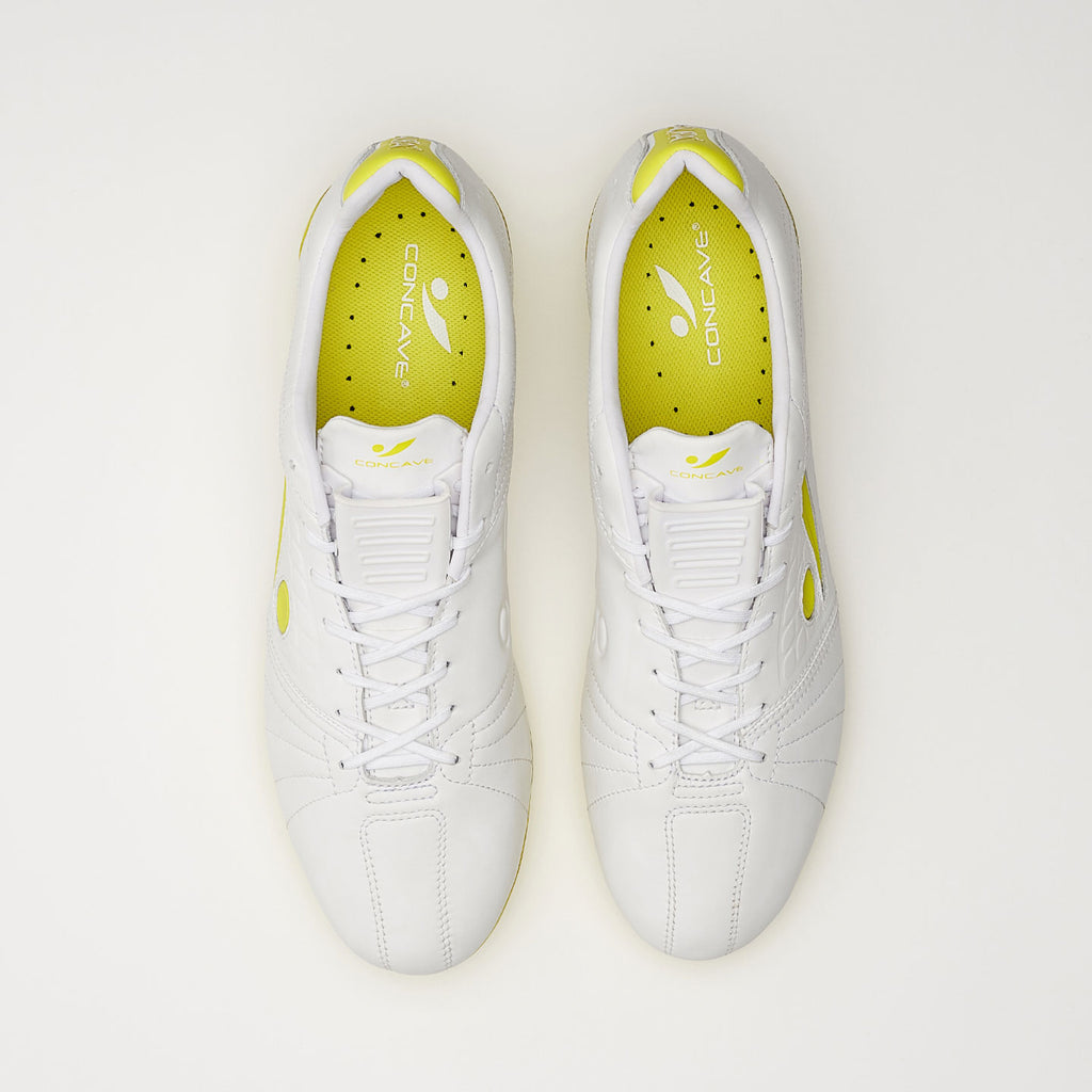 Concave Aura + FG - White/Neon Yellow