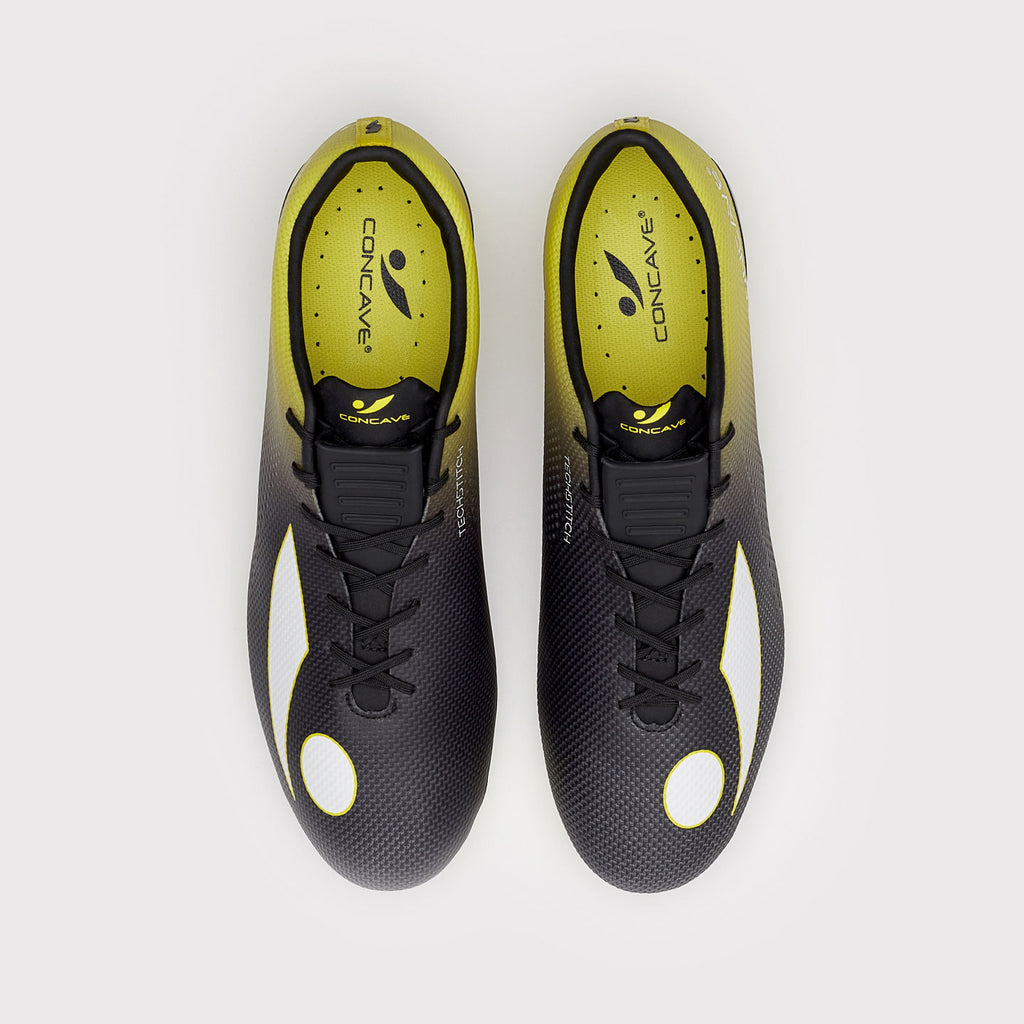 Concave Volt + TechStitch FG - Black/Neon Yellow