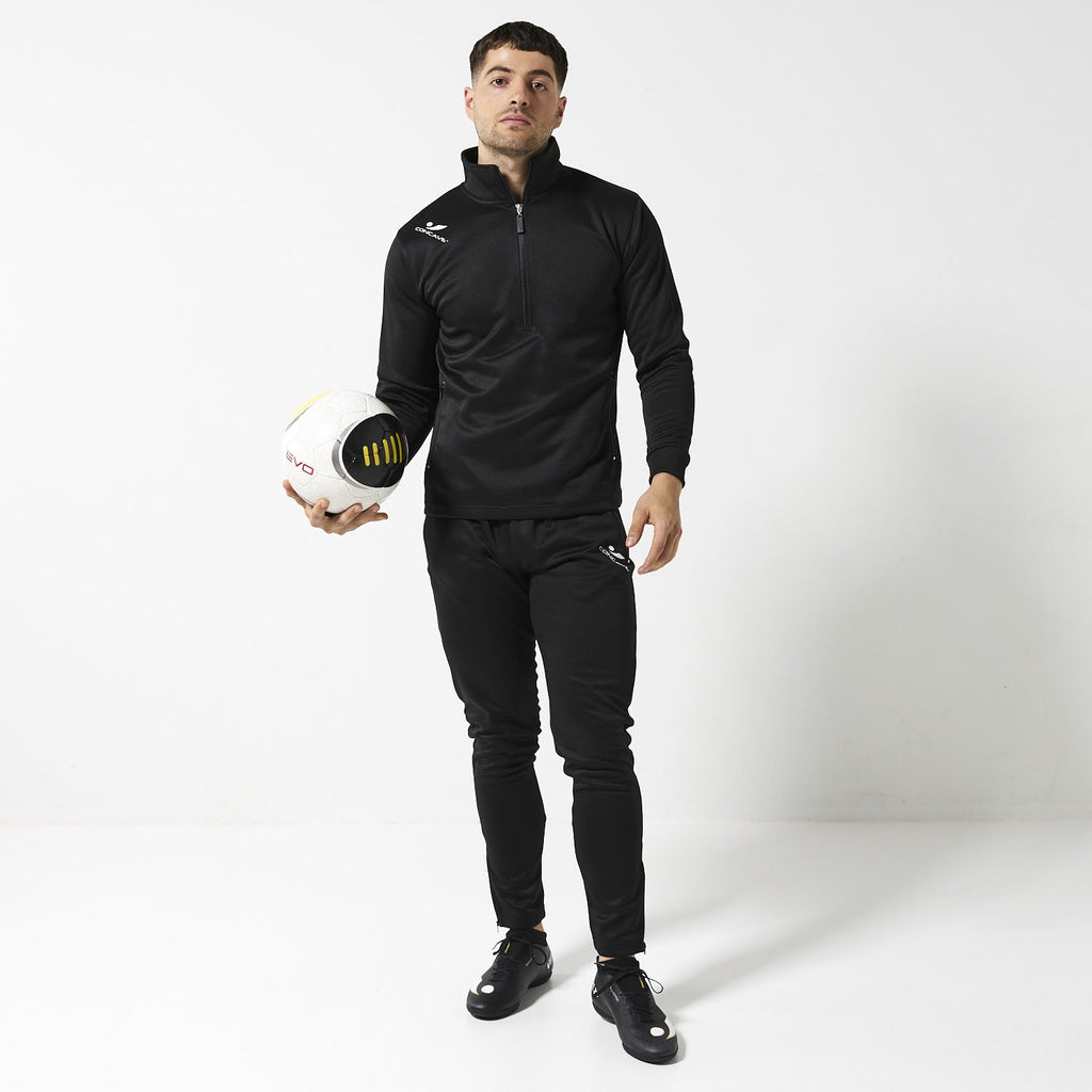 Concave Tracksuit Top - Black/White