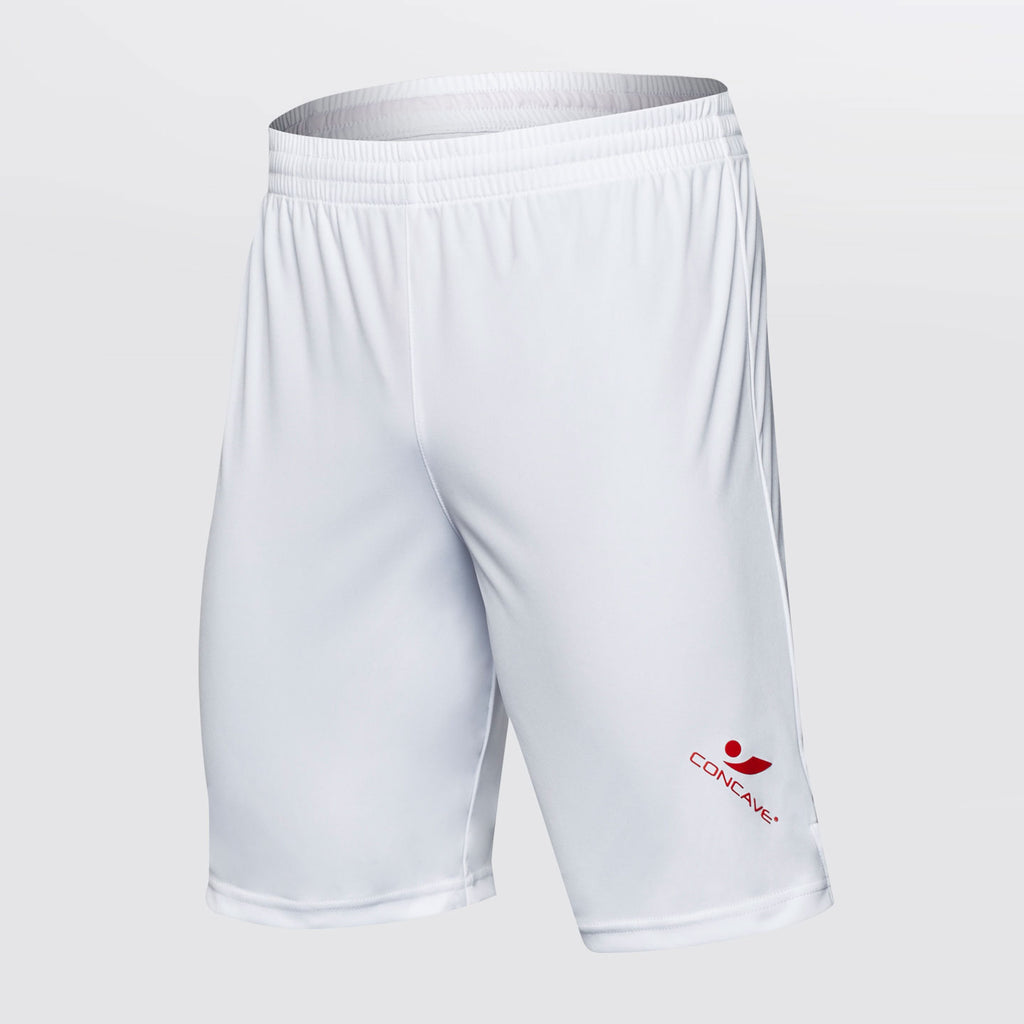Concave Performance Shorts - White/Red