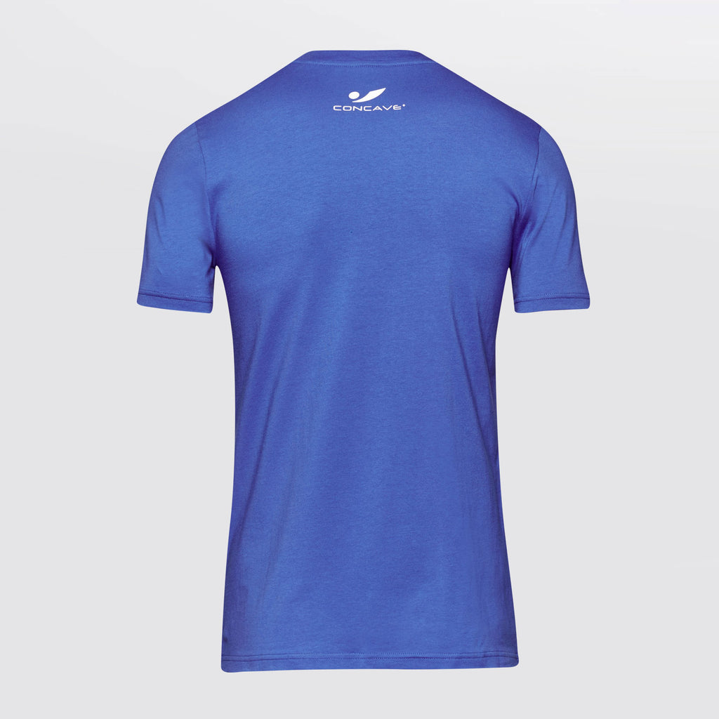 Concave T-Shirt - Blue/White 16.1