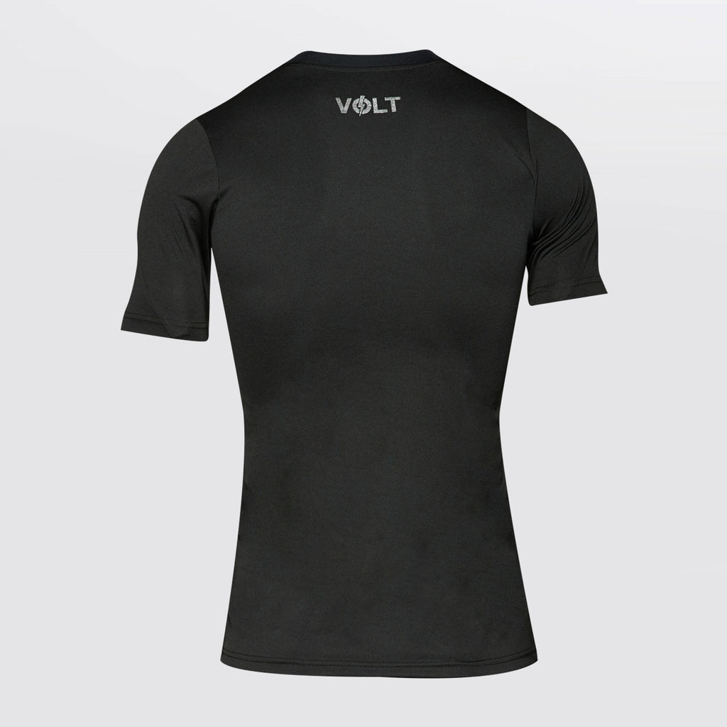 Concave Volt Performance Top - Black/Pink