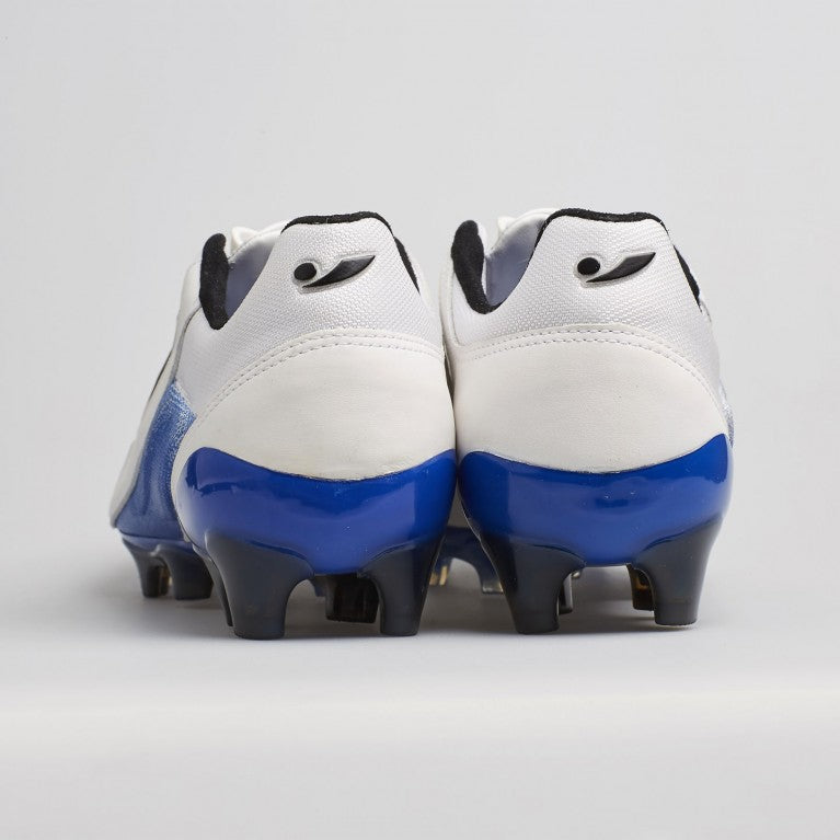 Concave Halo + Leather FG - White/Blue