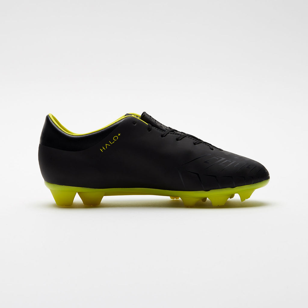 Kids Concave Halo + FG - Black/Neon Yellow