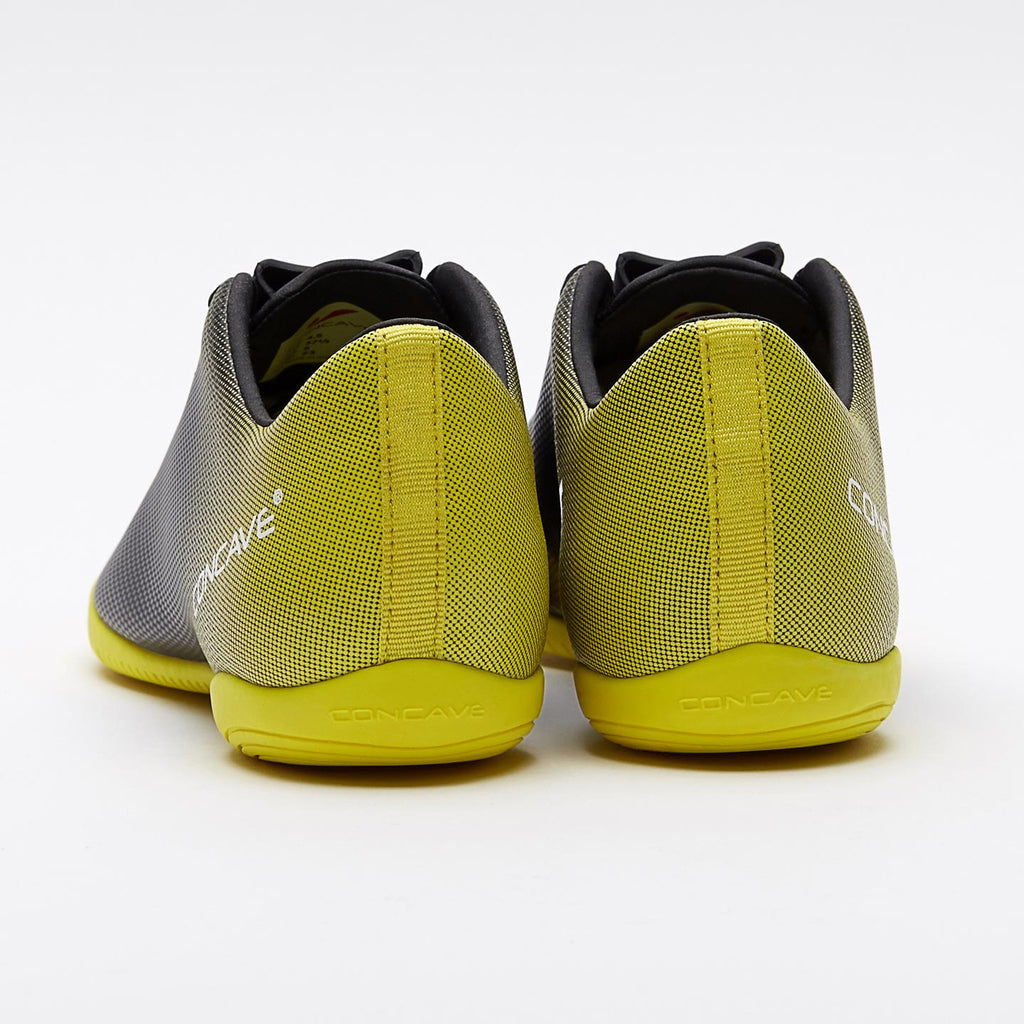 Kids Concave Volt + IN - Black/Neon Yellow