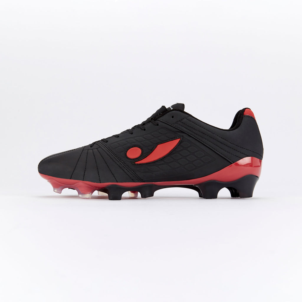 Concave Aura + FG - Black/Red