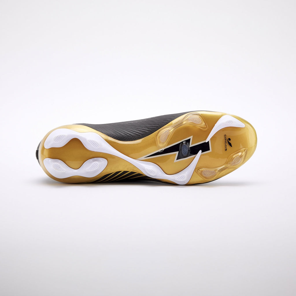 Concave Volt + Knit FG - Black/Gold