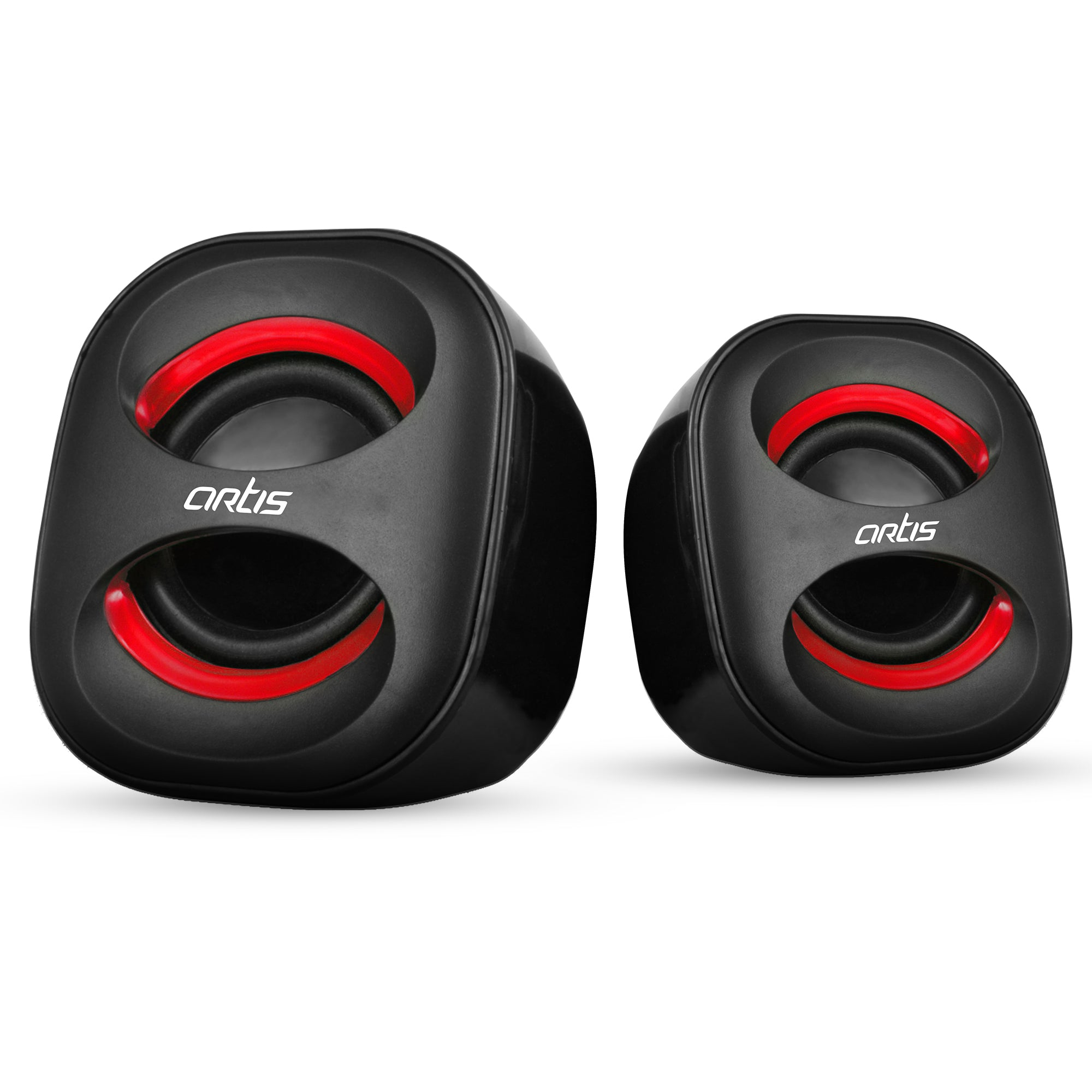 4W RMS Artis Mini 2.0 USB Speakers