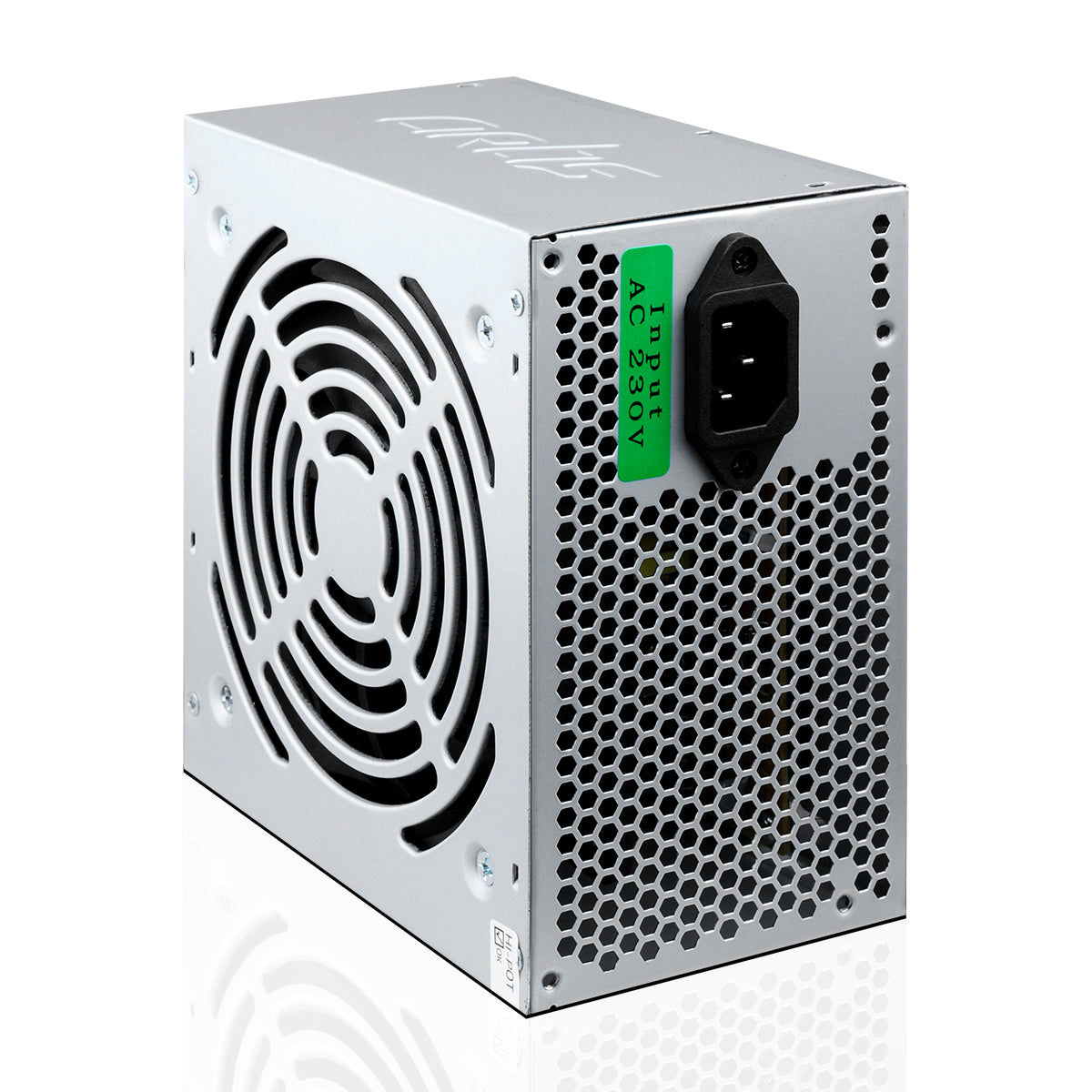 400R12 Plus 400W SMPS Power Supply Unit (Silver)
