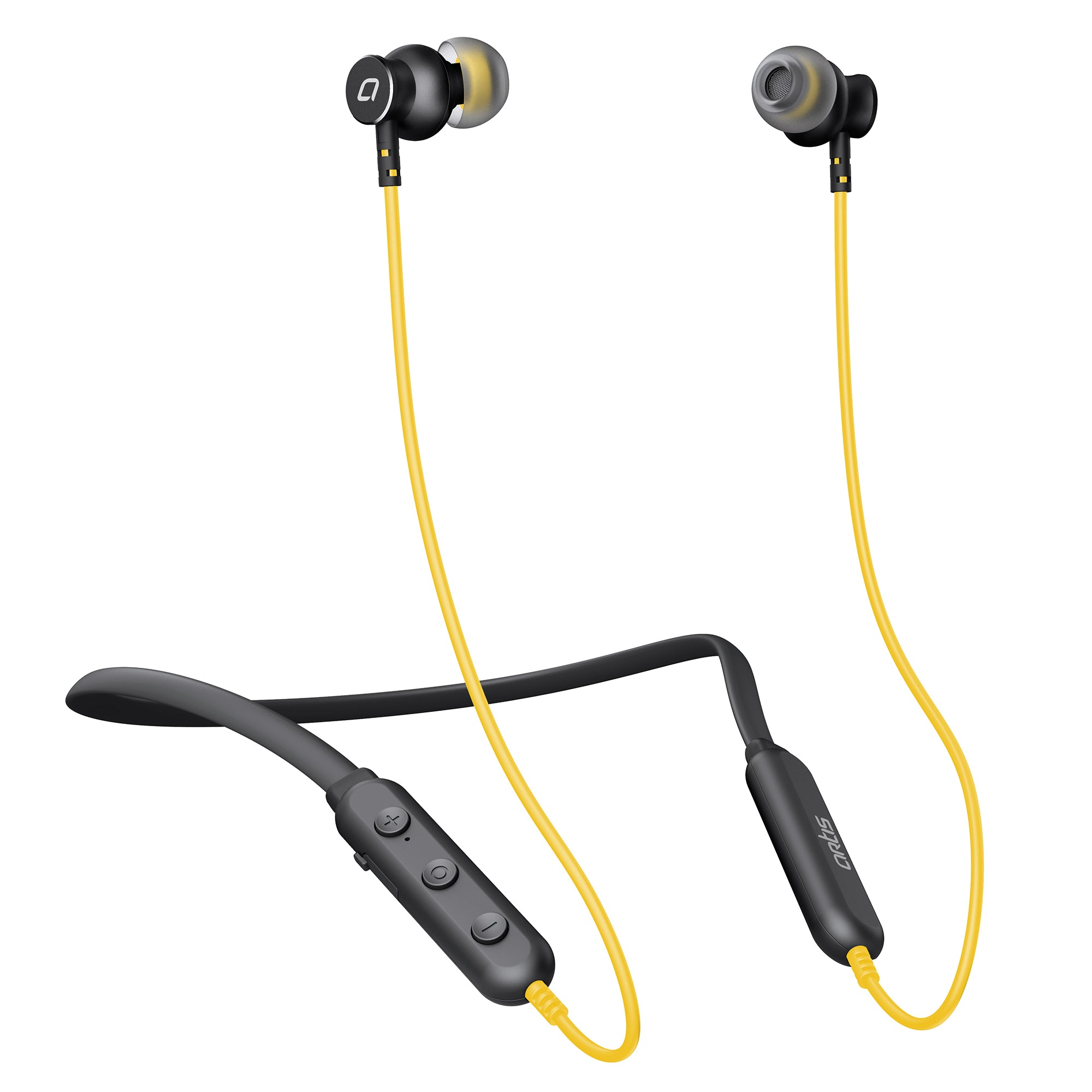 BE310M  Wireless Bluetooth Neckband Earphone (Yellow)