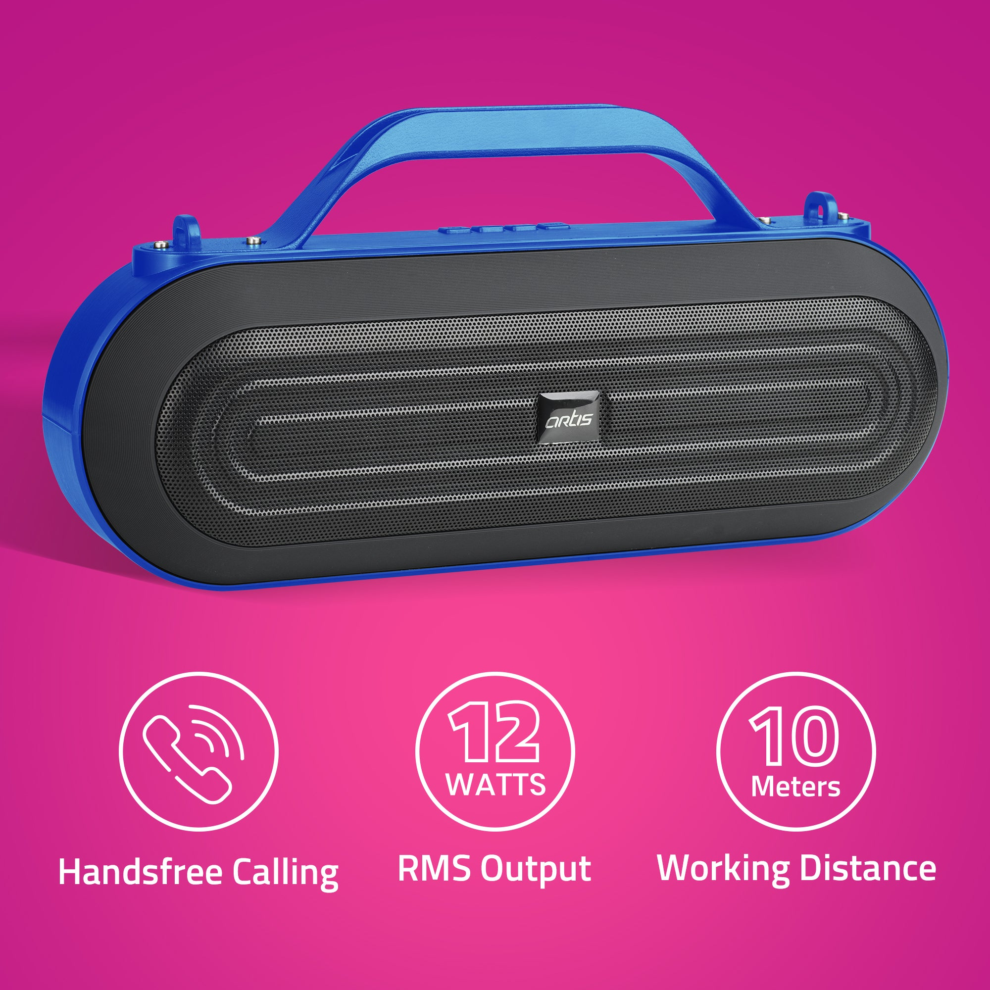 BT09 Blue Bluetooth Speaker