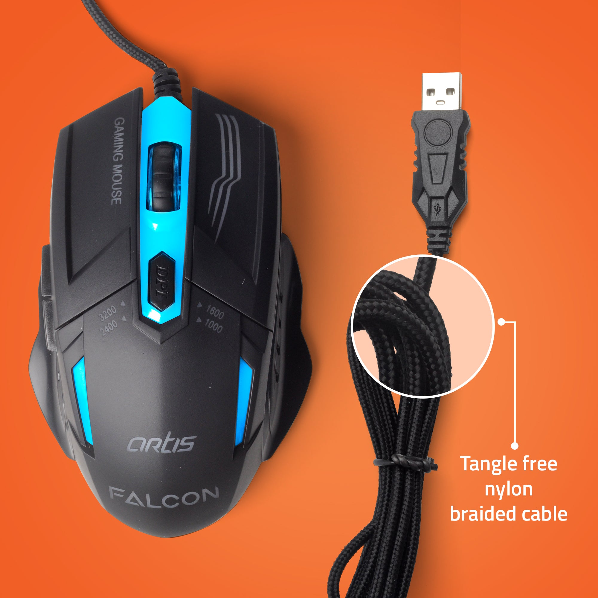 FALCON Optical Gaming Mouse