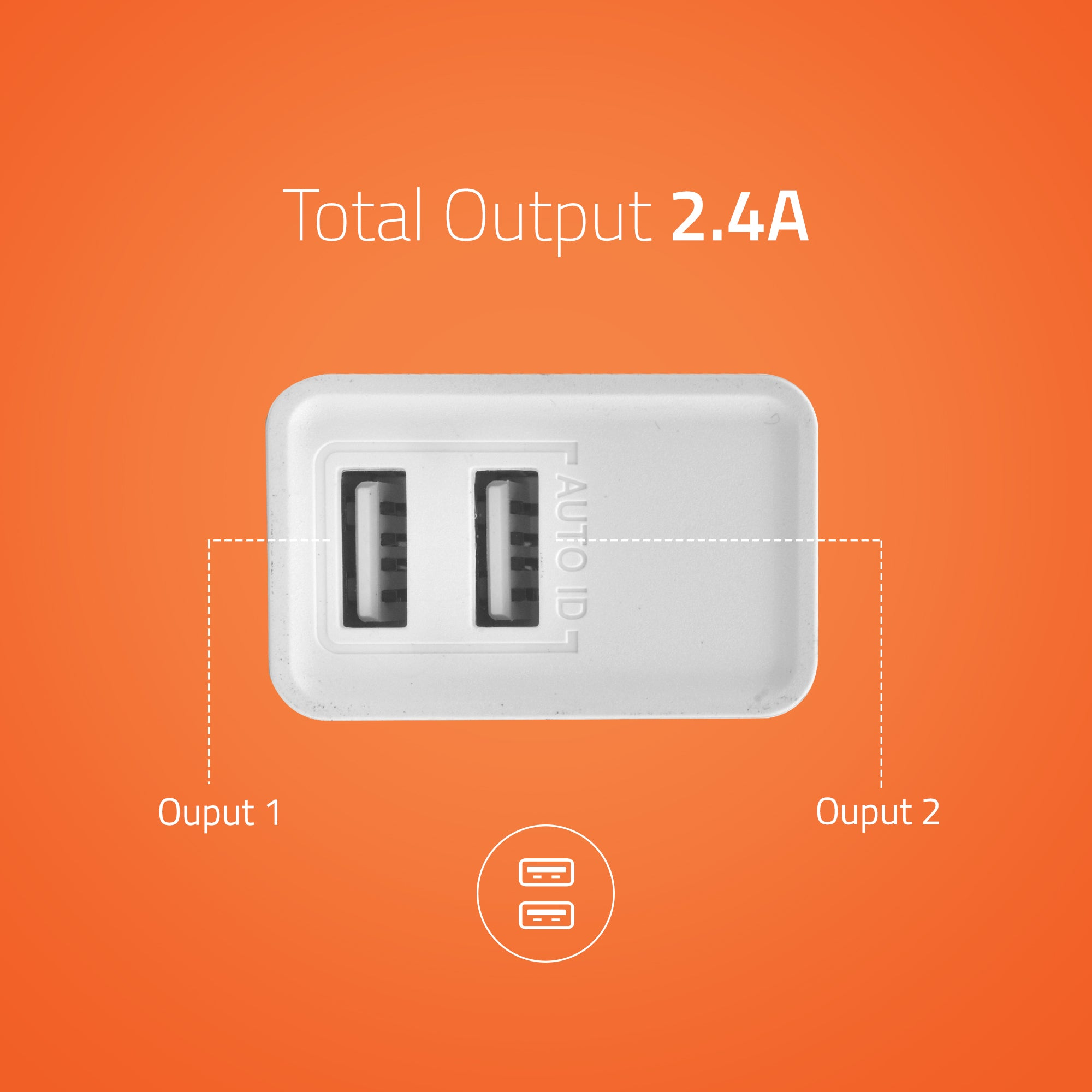 U200 USB Wall Charger with Micro USB Cable