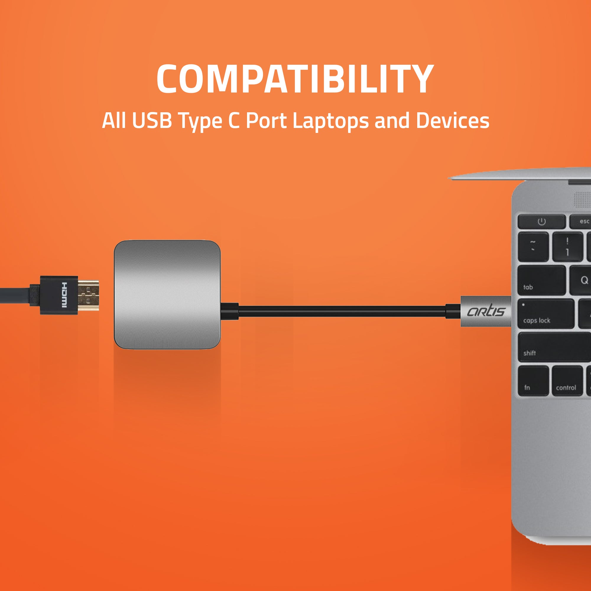 HB100 USB Type C to HDMI Port HUB