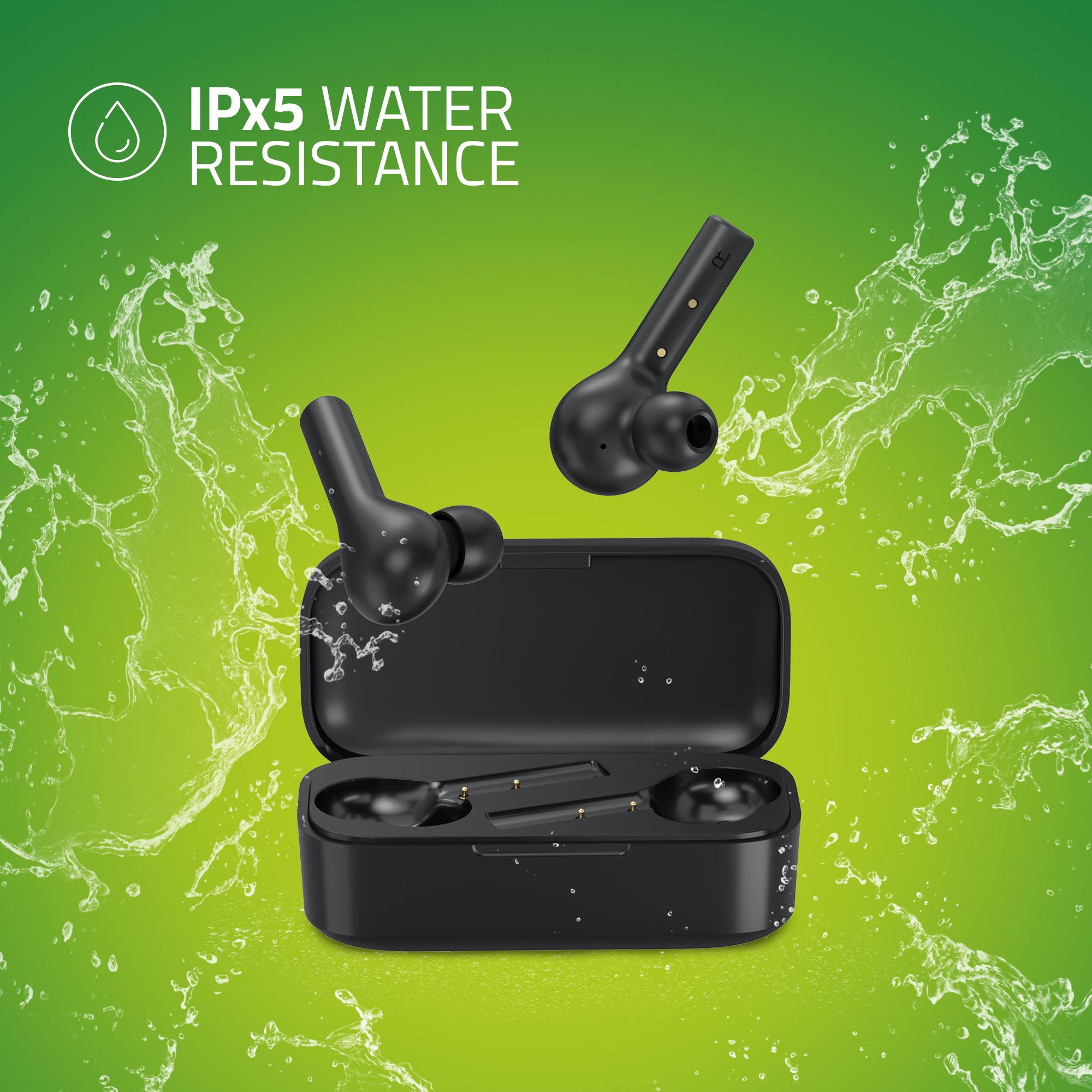 BE110M Artis TWS Earbuds - Water Resistance