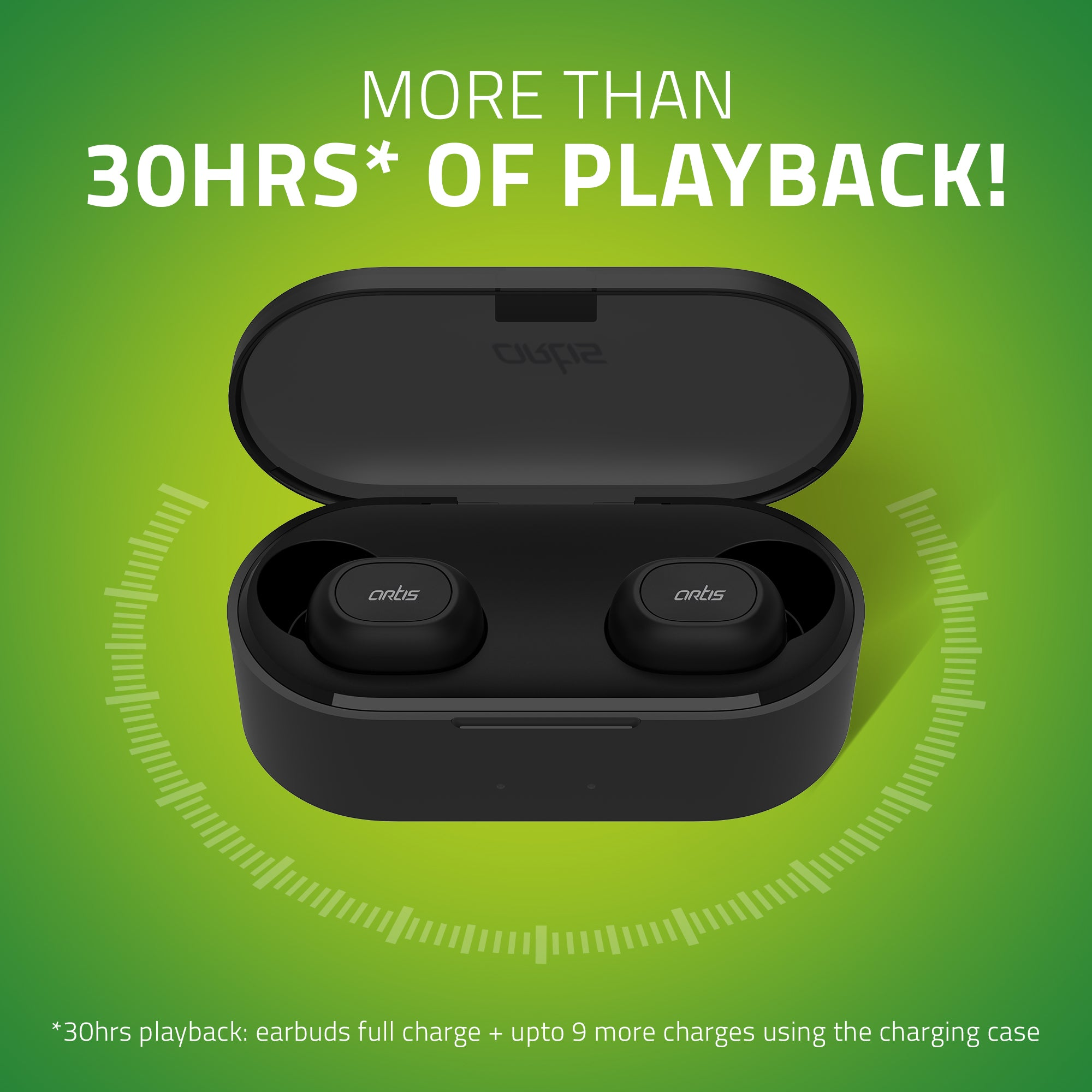 BE410M Artis TWS Earbuds with 30 hrs of Playback