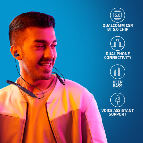 BE310M Artis Bluetooth Wireless Neckband Earphone