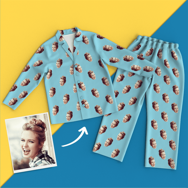 Custom Face Colorful Pajamas