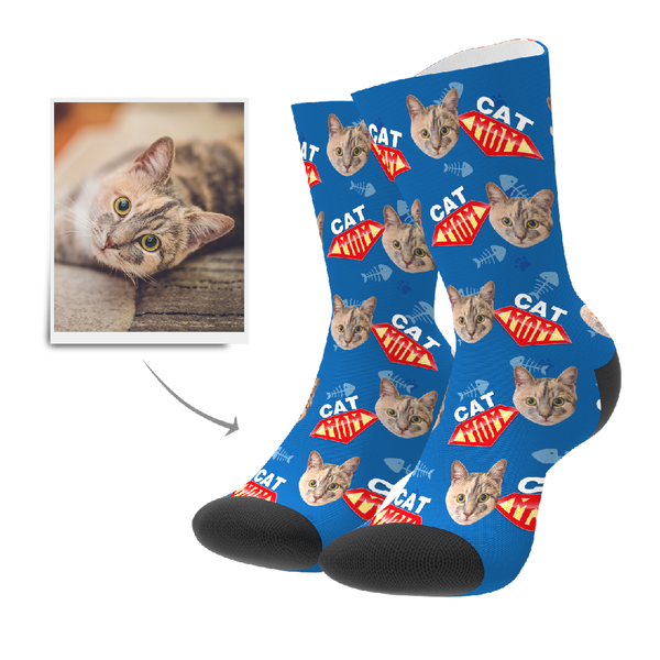 Custom Socks - Cat Mom