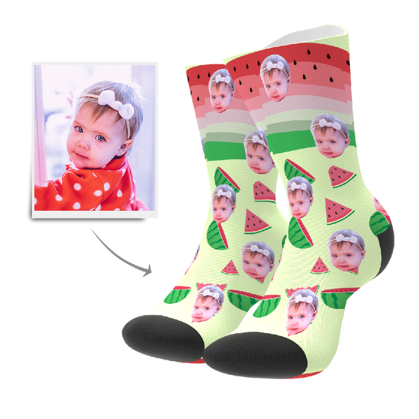 Custom Socks - Watermelon