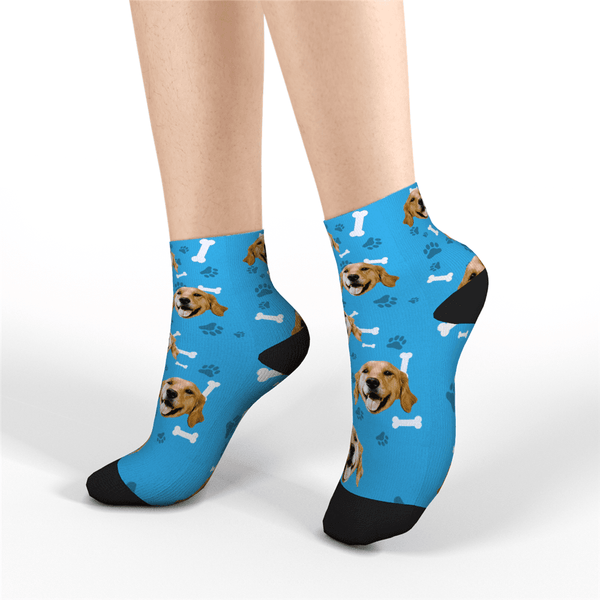 Custom Short Socks - Dog