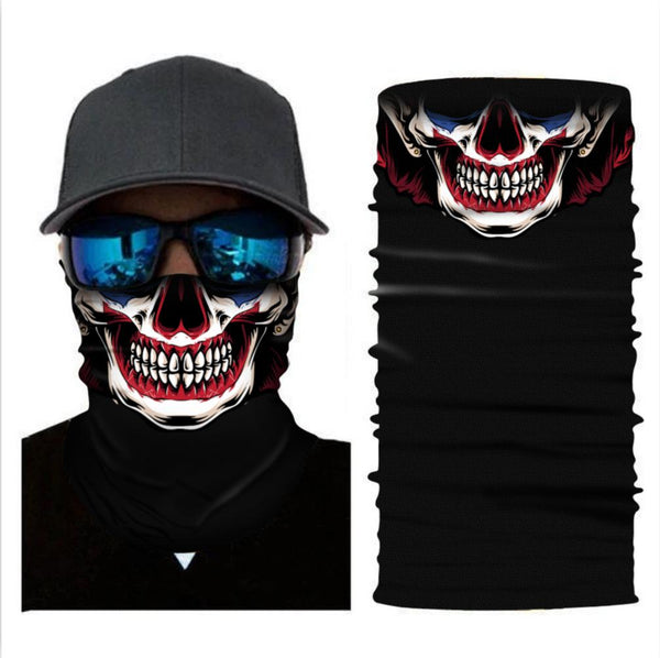 Multifunctiona Headwear Headband Neck Gaiter Bandanas For Dust Outdoors Sports