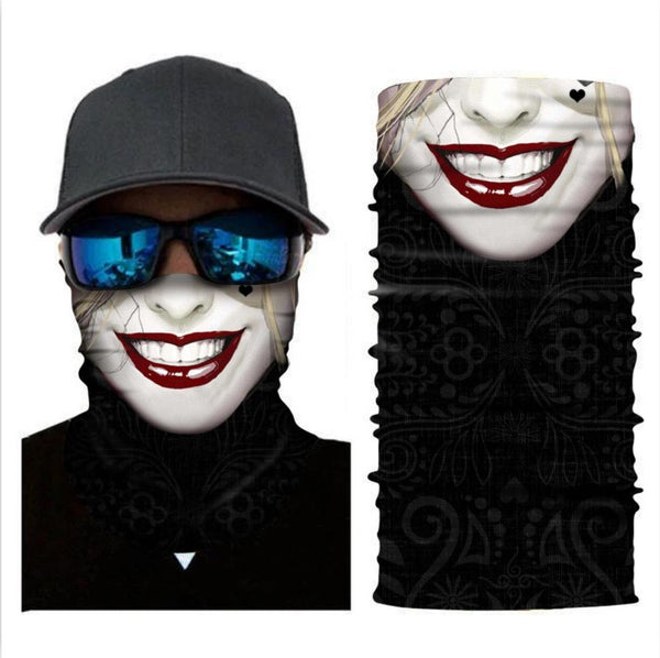 Multifunctional Neck Scarf Bandana Headwear Sun Dust Protection