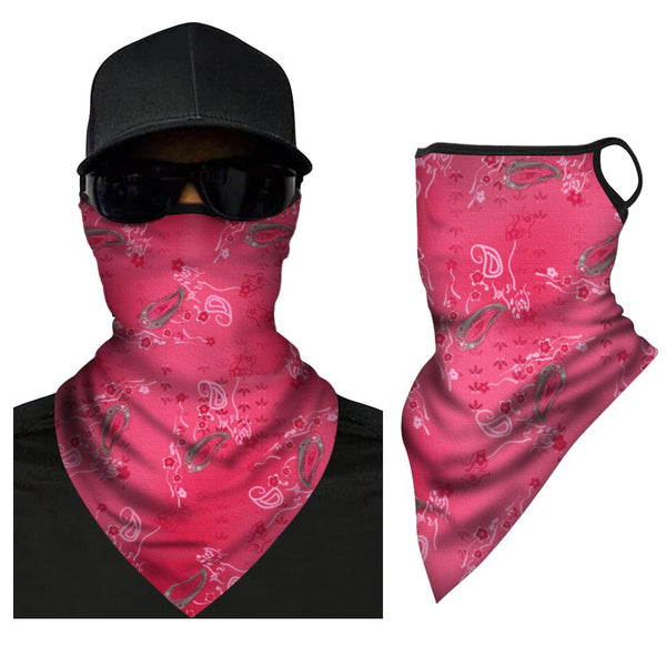 Ice Silk Triangle Bandana Printing Anti-UV Breathable Neck Brace - FaceSocksEU