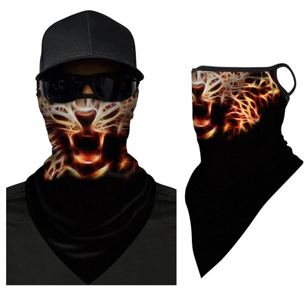 Multi-purpose Triangle Bandana Face Covers For Outdoor Sport Scarf Neck Gaiter - FaceSocksEU