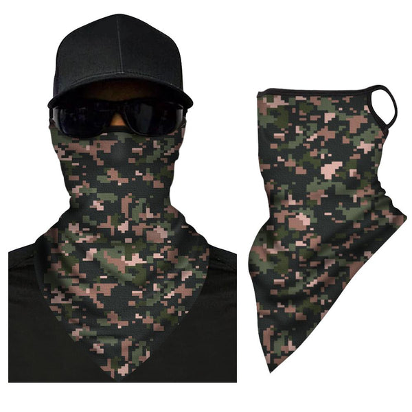 Neck Gaiter Adult Face Triangle Bandana Washable And Reusable - FaceSocksEU