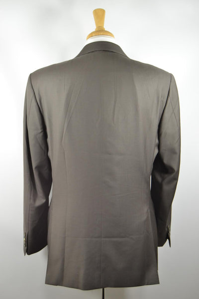 Canali Proposta Dark Olive Green Suit Jacket Pants 3 2 Roll 40 R