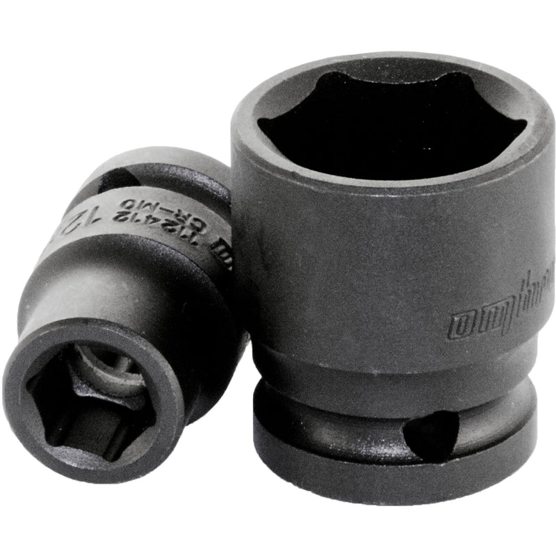 "Impact socket 1/2"" DR  Ombra Tools"