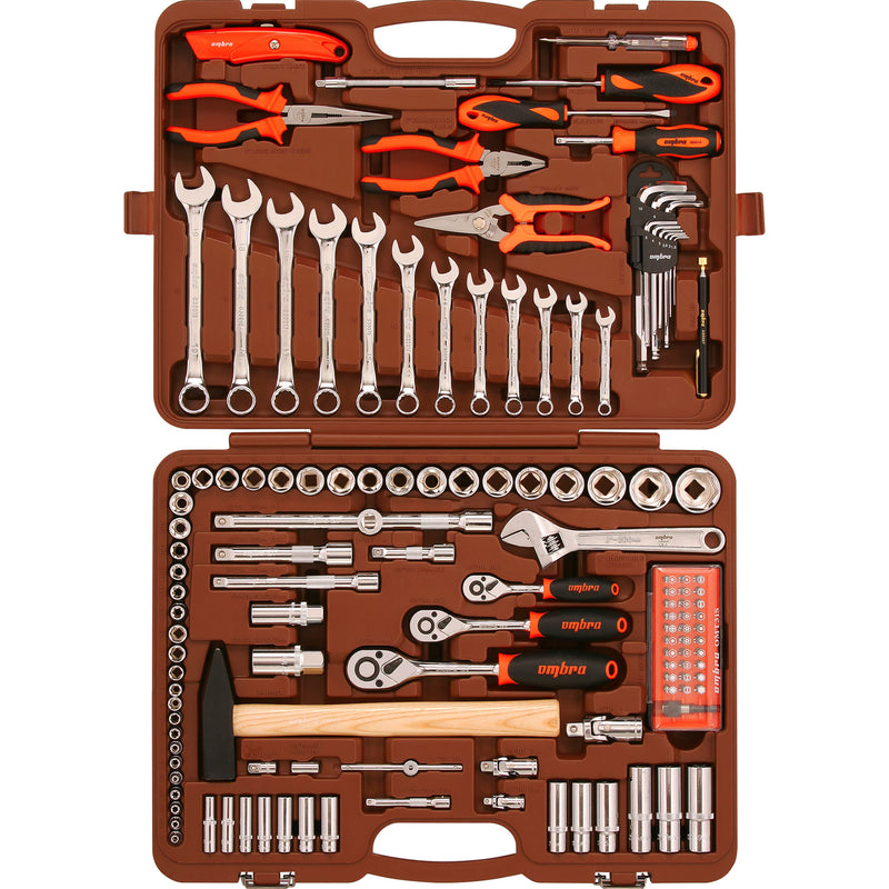 Tool set 131 pcs OMT131S Ombra Tools