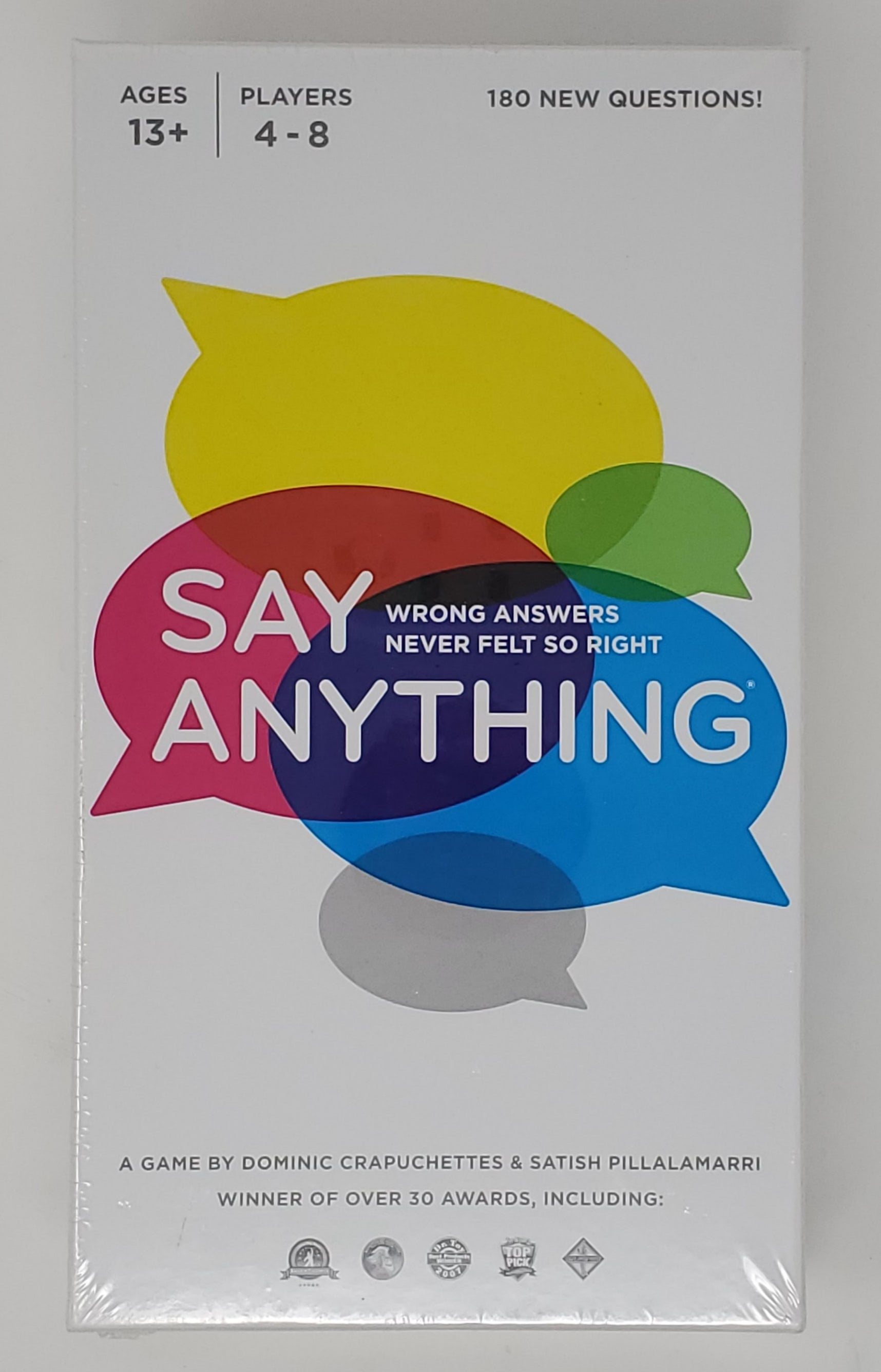 SAY ANYTHING Board Game 10th Anniversary Edition Factory Sealed