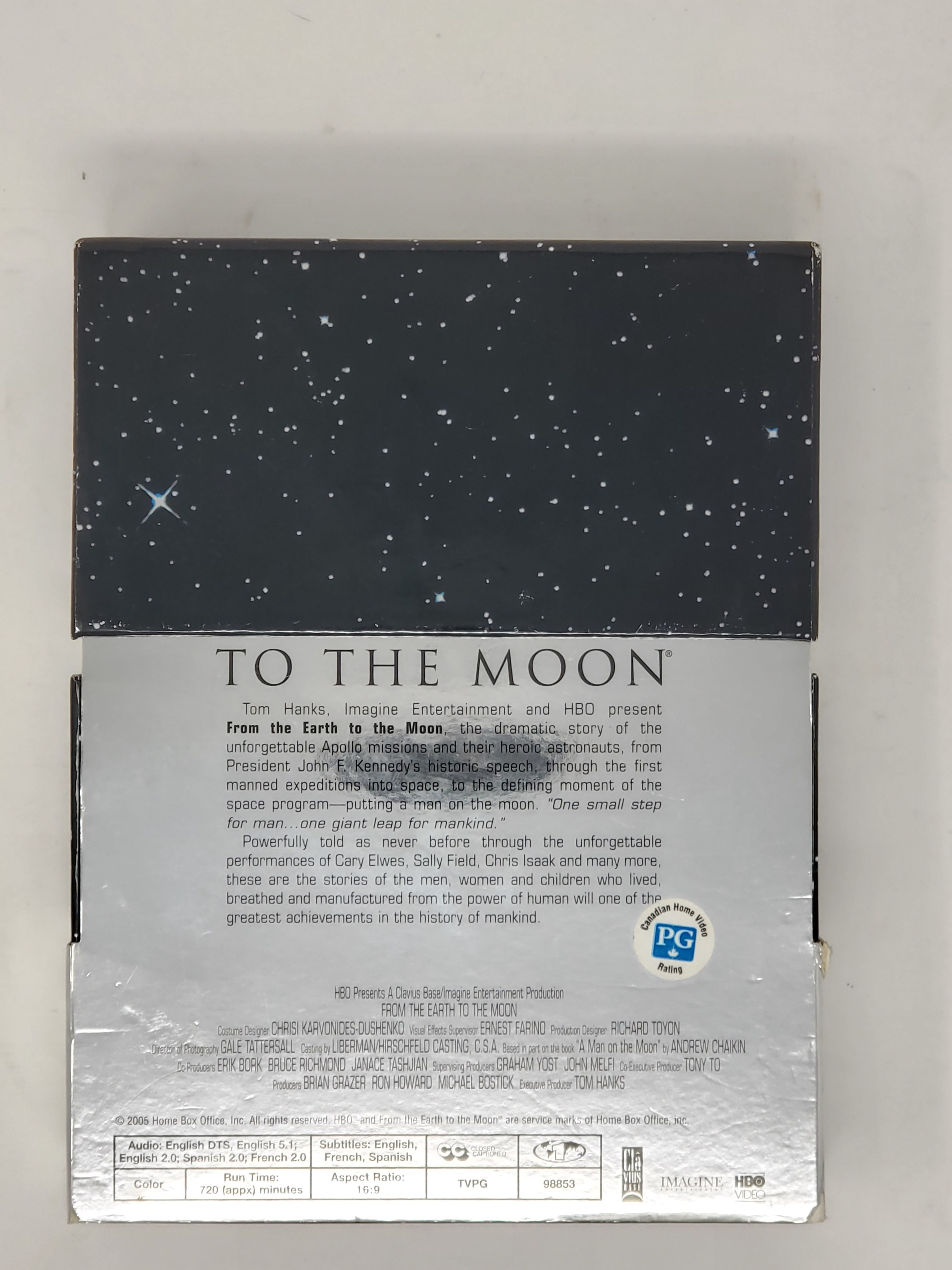 From the Earth to the Moon (DVD, 2005, 5-Disc Set)