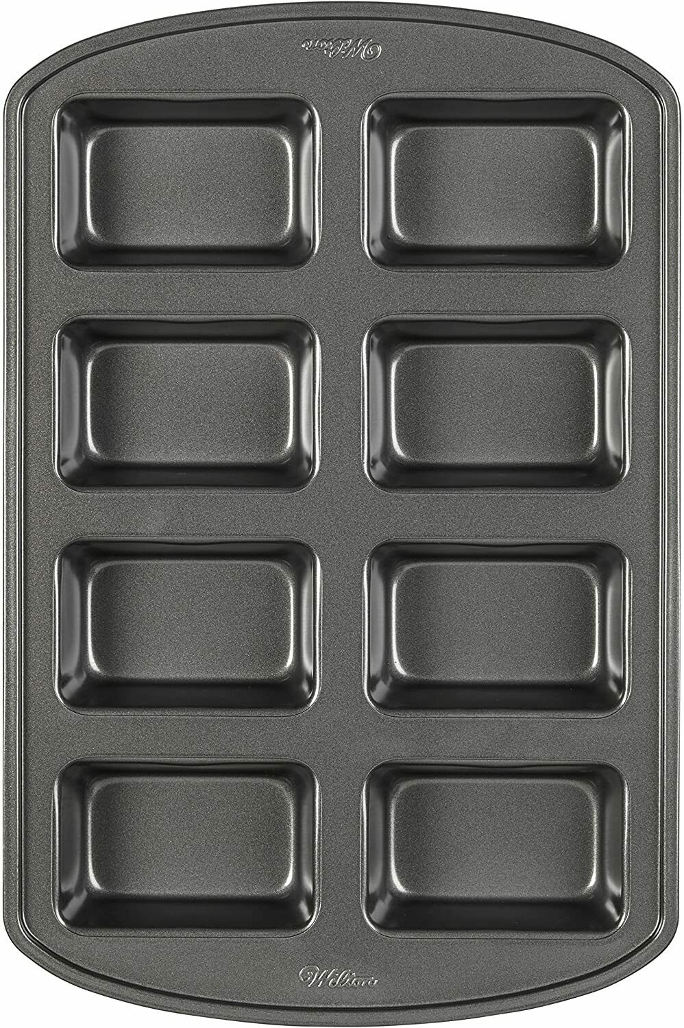 Wilton Perfect Results Non-Stick Mini Loaf Pan; 8-Cavity Quality Baking Pan - New