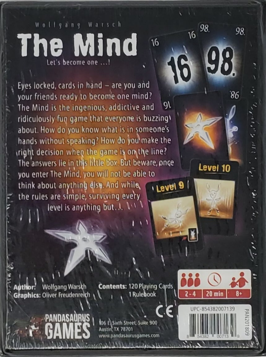 The Mind Card Game  Factory Sealed