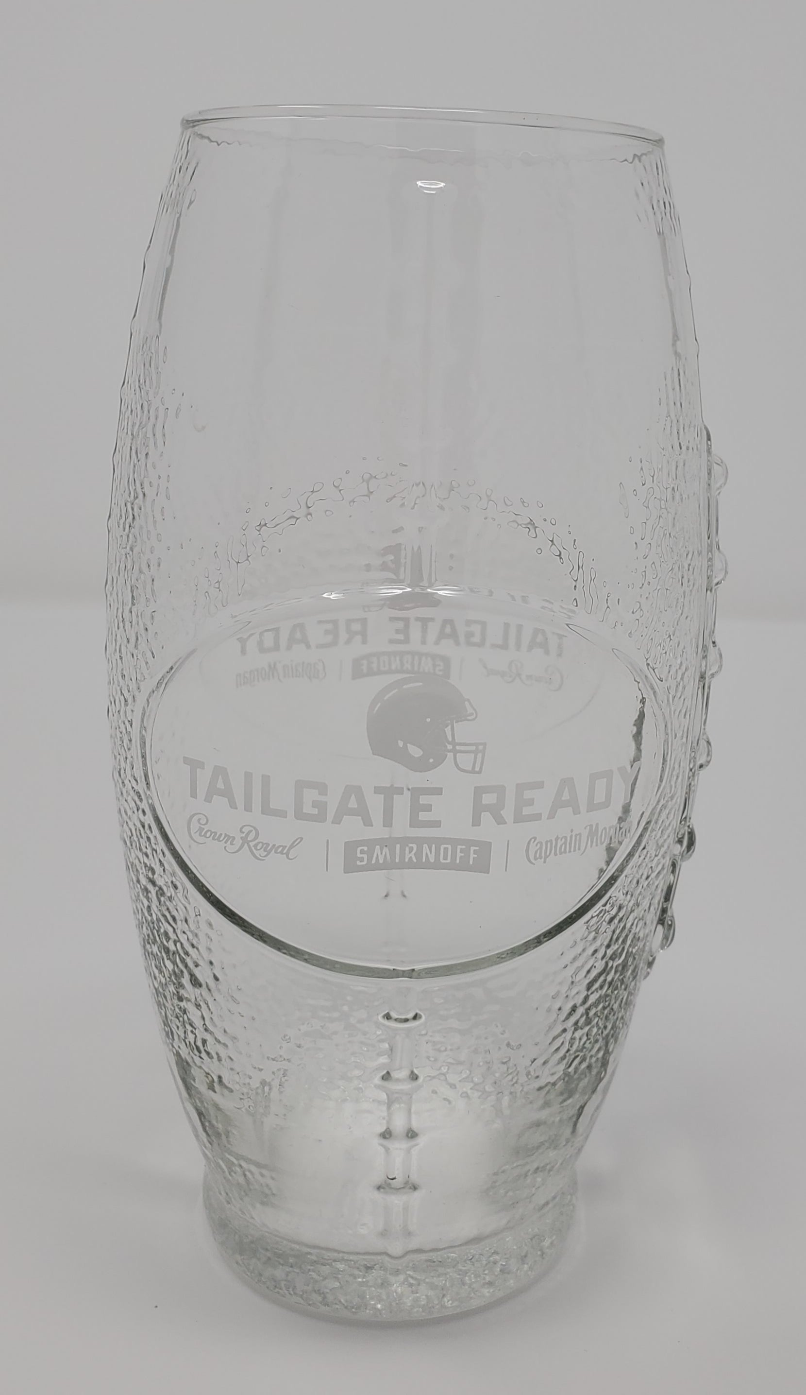 Tailgate Ready Football Shaped Glasses - Pair
