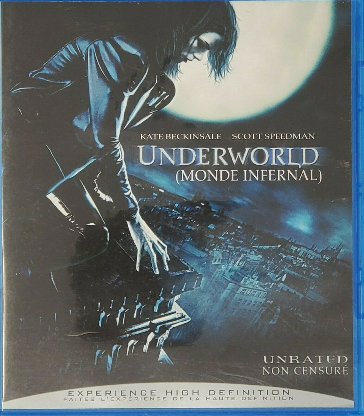 Underworld & Underworld:Rise of the Lycans Blu-Rays Excellent Condition