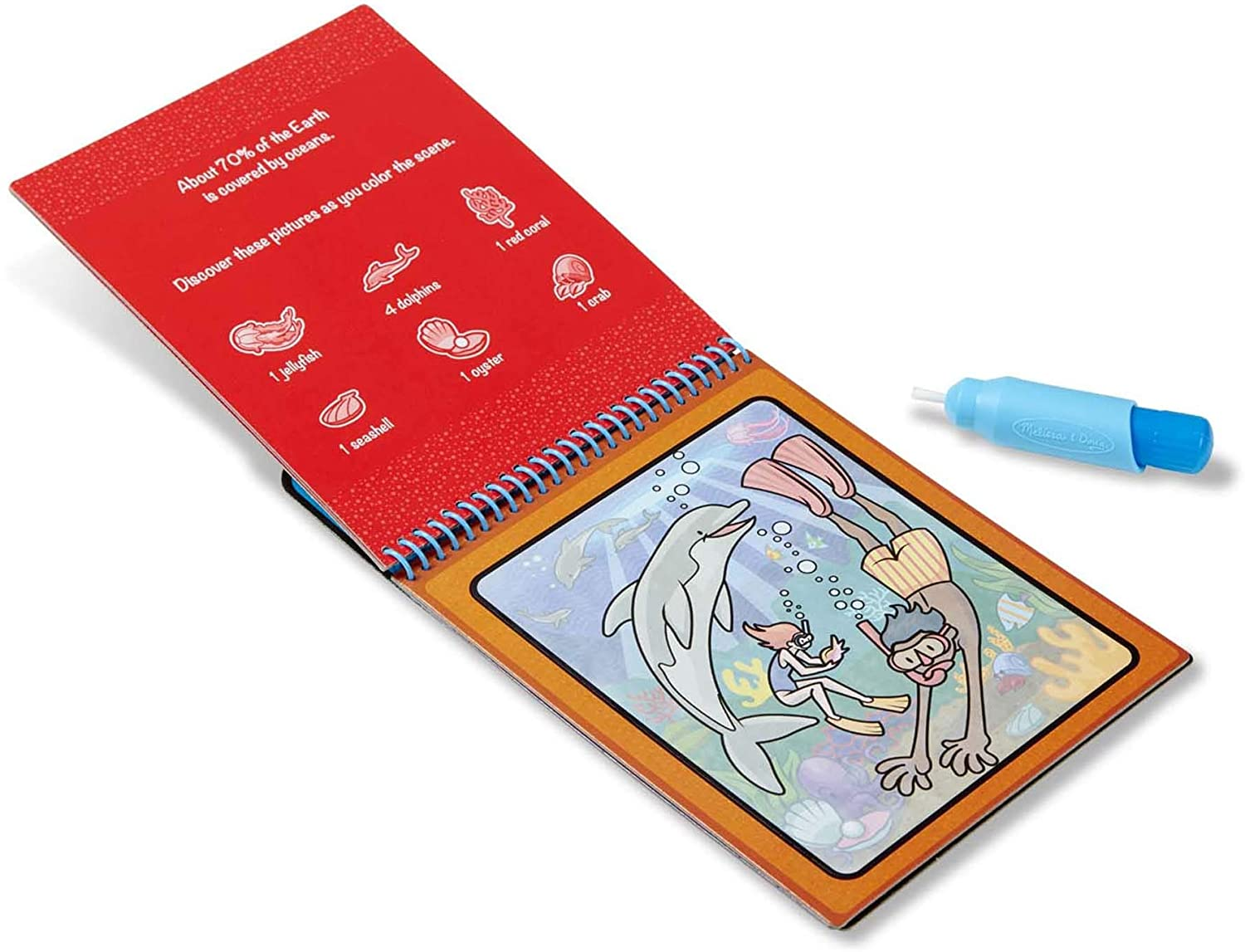 Reusable Water-Reveal Activity Pad – Adventure
