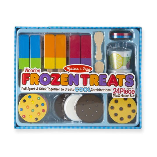 Wooden Frozen Treats Set