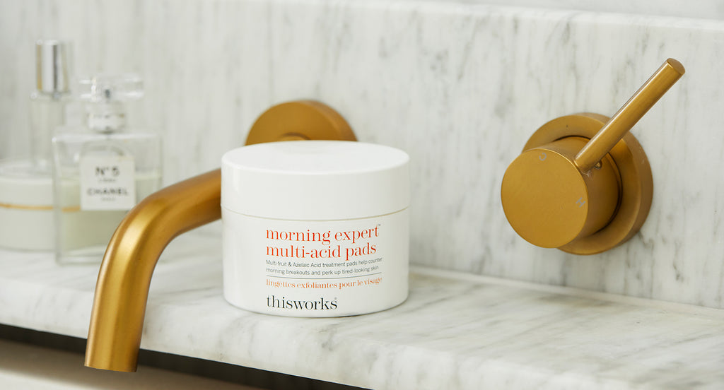 say goodbye to morning breakouts