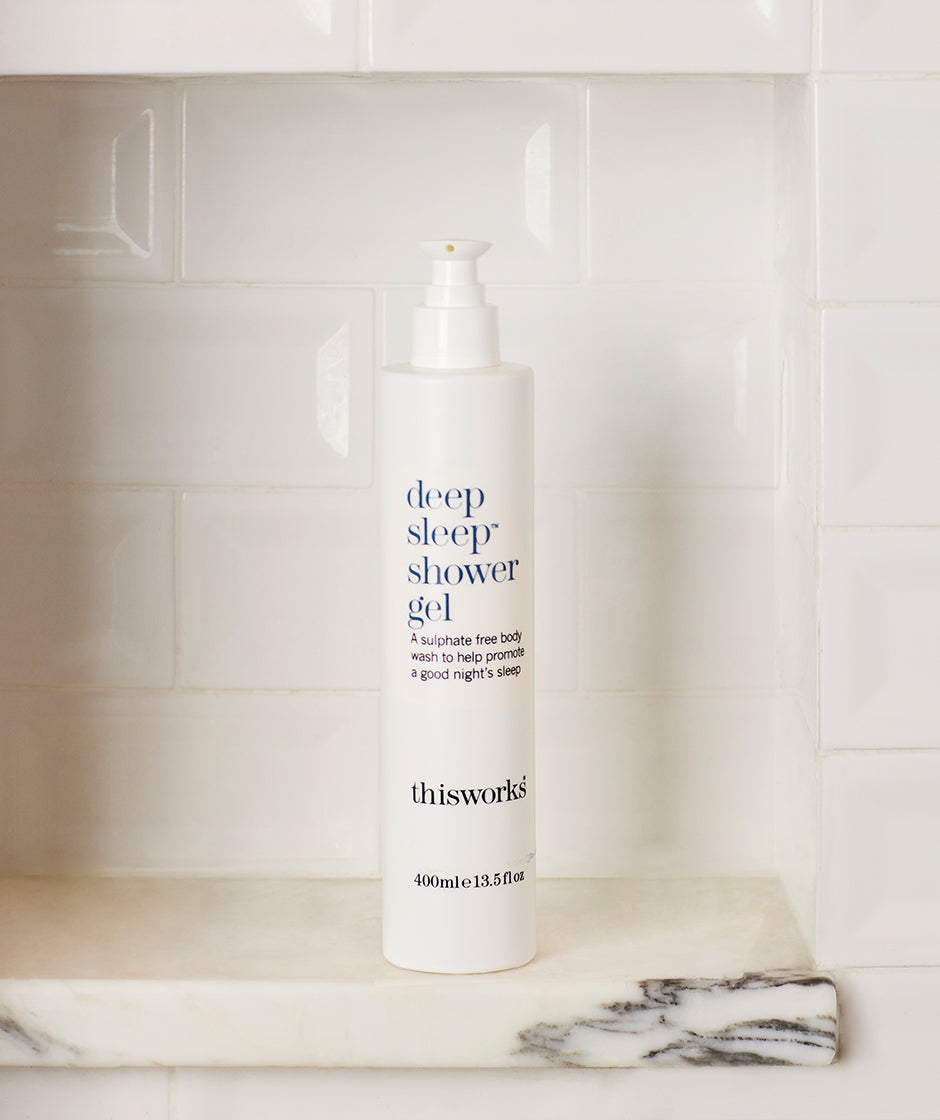 deep sleep shower gel 375ml