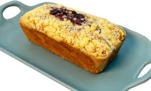 Blueberry Streusel Pound Cake